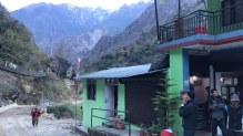 Tea house at Dharapni