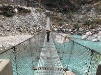 Sid's favourite-crossing the bridge