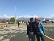 Landing at Pokhra