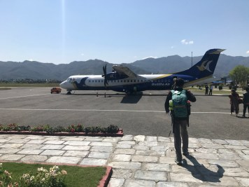 Take off to Kathmandu